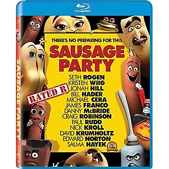 Sausage Party [Blu-ray] USA import