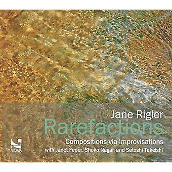 Jane Rigler - Jane Rigler: Rarefactions [CD] USA import