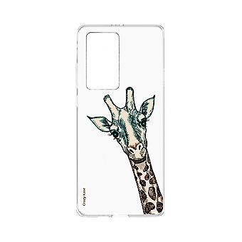 Skrov för Huawei P40 Pro Flexibel Giraffhuvud