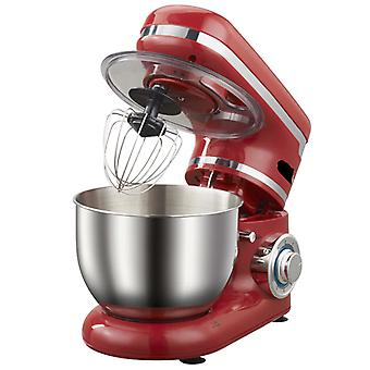1200W 4L Stainless Steel Bowl 6 Speed Kitchen Food Stand Mixer Cream  Egg Whisk Blender