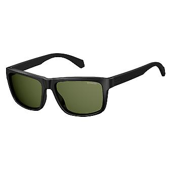 Polaroid PLD2058/S 003/M9 Matte Black/Grey Polarised Sunglasses