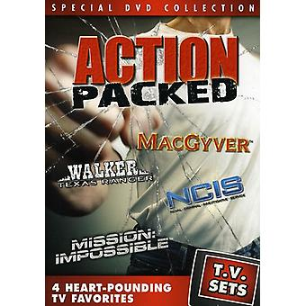 TV Sets: Action Packed [DVD] USA import