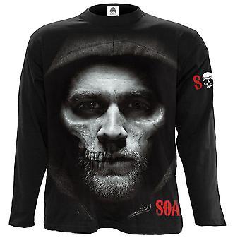 Spiraal direct-Jax Skull-lange mouwen t-shirt