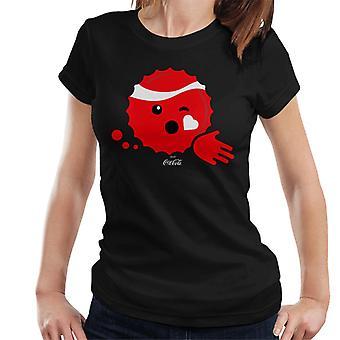 Coca Cola Kiss Emoji Women es T-Shirt