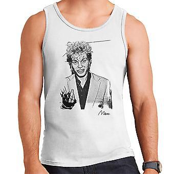 Billy Idol Smoking Men's Vest