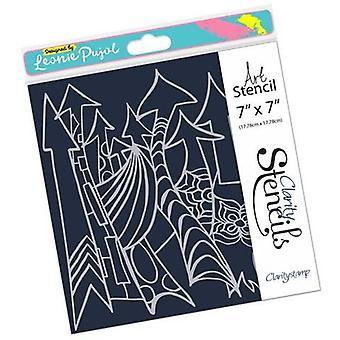 Claritystamp Leonie's Art Arrows 7x7 Inch Stencil