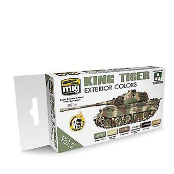 Ammo by Mig King Tiger Exterior Colour (Special Takom Edition) Vol 2