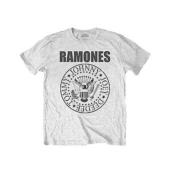 Ramones Kids T Shirt Presidential Seal new Official Heather Grey Ages 3-14yrs