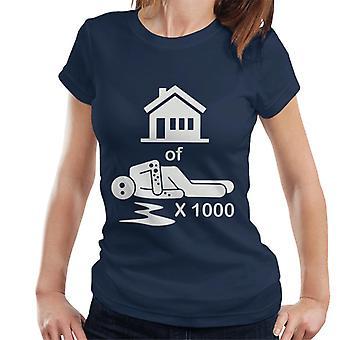 House Of 1000 Stickmen Women's T-Shirt