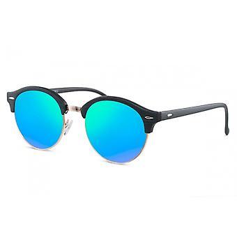 النظارات الشمسية Unisex Cat.3 الهائم الأسود / الأزرق (CWI1611)