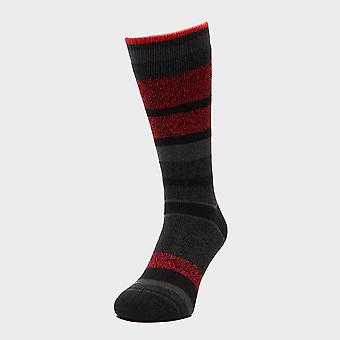 New Heat Holders Men's Striped Socks Black