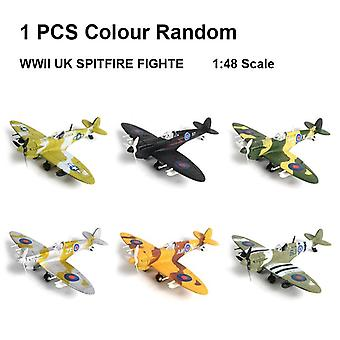 World War Ii German Fighter Model B-109 4d Plastic Assemble Aircraft Military Building Model Toy For Children