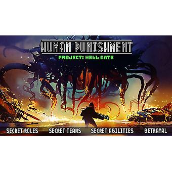 Human Punishment- Project Hell Gate Board Game
