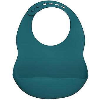 Tabliers imprimés de bib de silicone imperméables à l'eau, tabliers d'alimentation de bébé