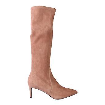 Stuart Weitzman Wanessa75suestrcappuccino Women's Brown Suede Boots