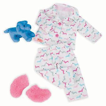 Notre génération poupées tenue pyjama compter les chiots
