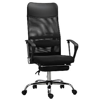 Vinsetto High Back Mesh Executive Office Chair Ergonomic Computer Desk Napping Seat, Height Adjustable, Swivel with Footrest and Lumbar Support