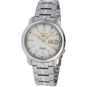 Seiko 5 Gent Watch SNKL77K1 - Stainless Steel Gents Automatic Analogue