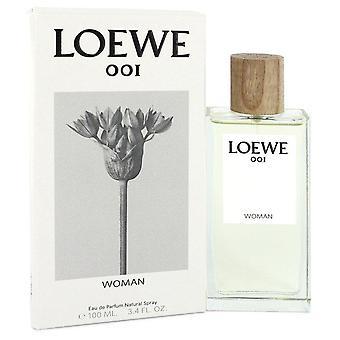 Loewe 001 kvinde eau de parfum spray af loewe 100 ml