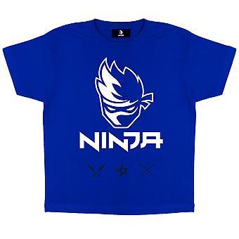 Ícones ninjas oficiais da crianças t-shirt meninos meninas gamer jogos
