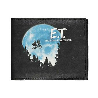 E.T Wallet ET telefoon Home Movie Logo nieuwe officiële Zwarte Bifold
