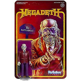 Vic Rattlehead (Megadeath) ReAction Figure