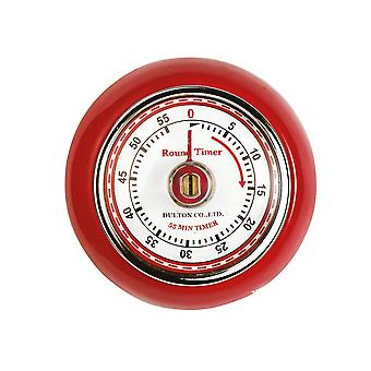Eddingtons Retro Magnetic Timer Red 850091