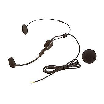 Audio-technica atm73ac cardioid kondensor huvudsnörmi mikrofon