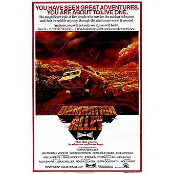 Damnation Alley elokuvan juliste tulosta (27 x 40)
