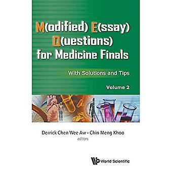 M(odified) E(ssay) Q(uestions) dla medycyny finałów: rozwiązania i wskazówki, Tom 2