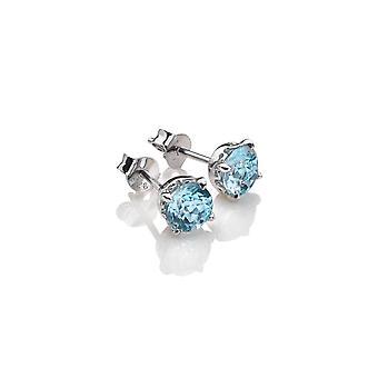 Anais Hot Diamonds Anais Diciembre Pendientes de Topacio Azul AE012