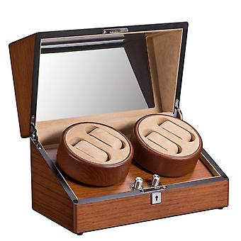High Quality 4+0 Wood Automatic Mechanical Watch Winder Box