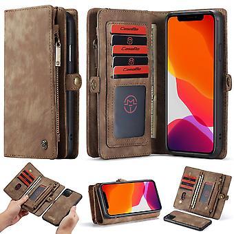 Hoge capaciteit kaart iphone wallet case voor iphone 6 - Iphone 12 Pro Max