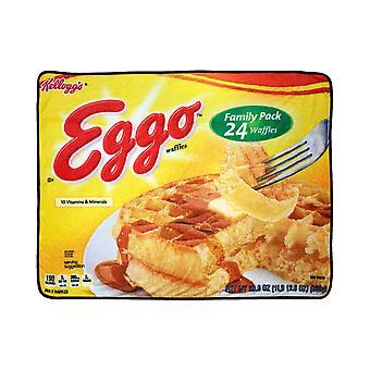 Eggo Waffles 45x60 Throw Blanket