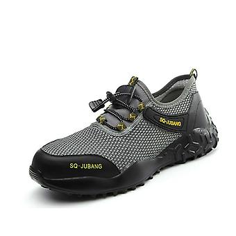 Work Boots, Portable Industrial Shoes, Puncture Proof, Wear-resisting Safety,