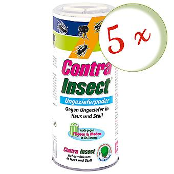 Sparset: 5 x FRUNOL DELICIA® Contra Insect® Ungeziefer-Puder, 250 g