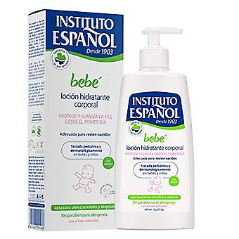 Instituto Espanol Bebe Baby Moisturizing Body Lotion Newborn Sensitive Skin Without Allergens 300ml