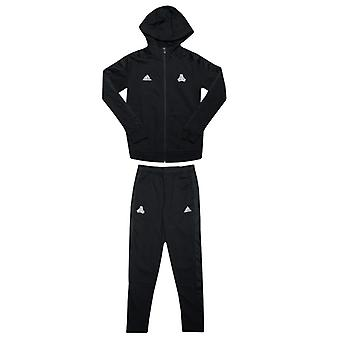 Boy's adidas Junior Tango Tracksuit in Black