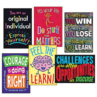 Life Lessons Argus Poster Combo Pack