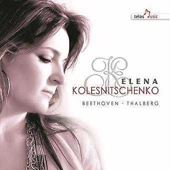 Beethoven / Thalberg / Kolesnitschenko - Works for Piano [CD] USA import