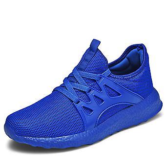 Hombres's zapatos de running de moda ligera Azul