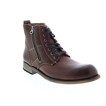 Andrew Marc Forest  Mens Brown Leather Casual Dress Boots