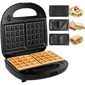 Kuyal Sandwich Toaster Maker, Panini Sandwich Press Waffle Snack Machine