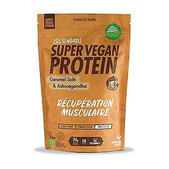 SUPER VEGAN PROTEIN Caramel salty and Ashwagandha 875 g of powder