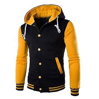 Jakker Man Patchwork Outwear Foråret Sportswear Mandlige efterårsfrakker H
