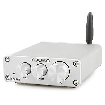 KGUSS BL50 PRO TPA3116D2 QCC3003 bluetooth 5,0 2x50W Digitální výkon audio zesilovač