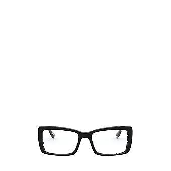 Miu Miu MU 03SV havanna musta valkoinen top musta naisten silmälasit