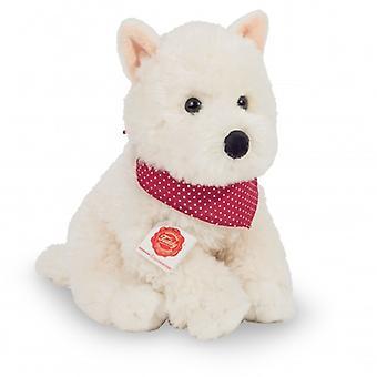 Hermann Teddy Cuddly Perro West Highland Terrier Sentado