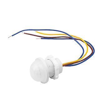Interruptor de movimento de luz infravermelha interior ao ar livre led lâmpada noturna sensível
