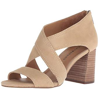Lucky Brand Womens Vidva Leather Open Toe Special Occasion Ankle Strap Sandálias